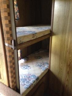 back bunk area